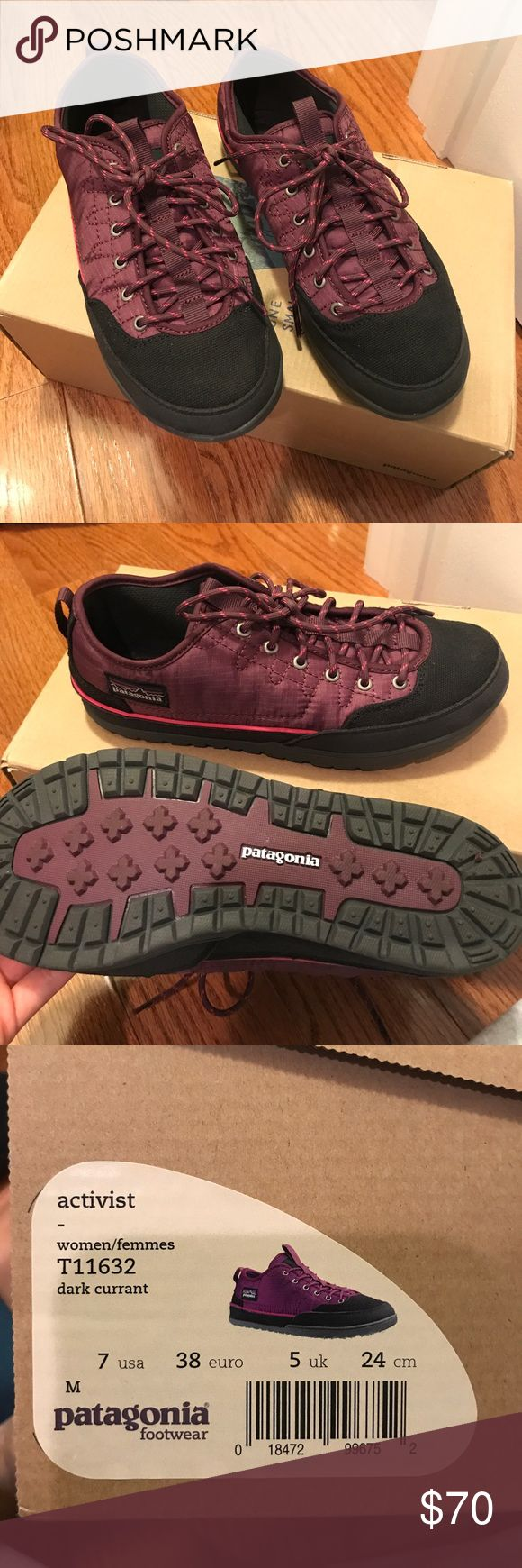 Patagonia shoes Still in original box. Never worn. Great for outdoor activities! Patagonia Shoes Athletic Shoes