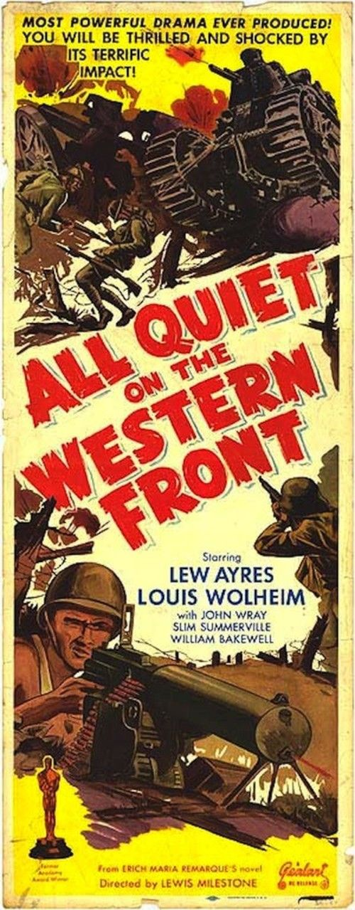 All Quiet on the Western Front (1930) Full Movie Streaming HD