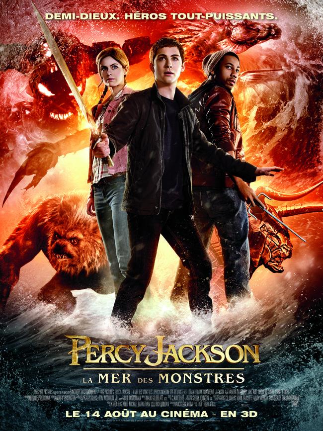 Percy Jackson La Mer Des Monstres - Affiche France