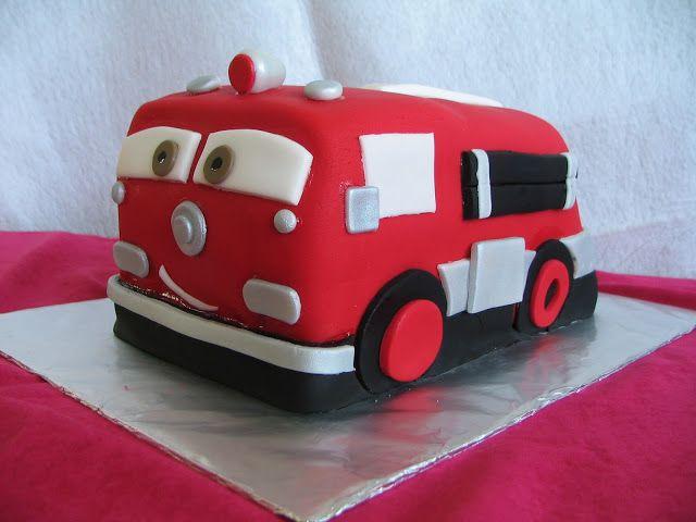 Image gateau camion pompier home baking for you blog photo - Camion pompier cars ...