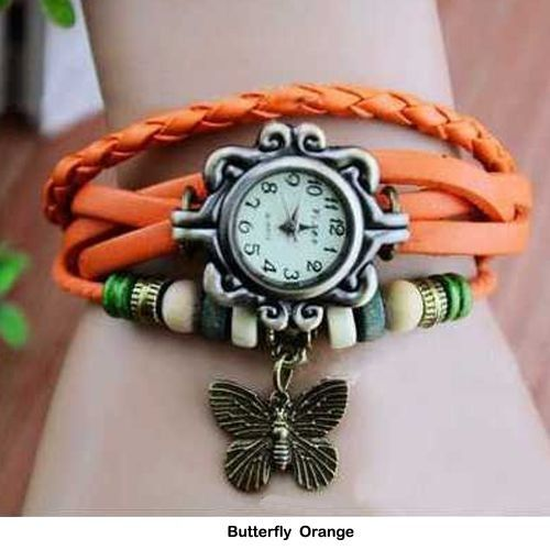 Women's Boho-Chic Vintage-Inspired Handmade Watch - 4 Styles Available - $10.00