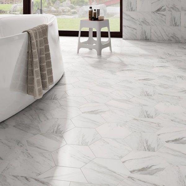 25 best ideas about hex tile on pinterest hexagon tile for Color marmol carrara