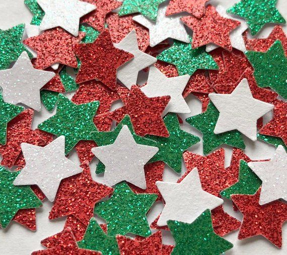 Wedding Sparkle Stars Confetti Party Table Scatter Decor Holiday Party Supply\