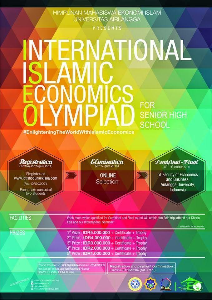 Info lomba ekonomi islam tingkat internasional