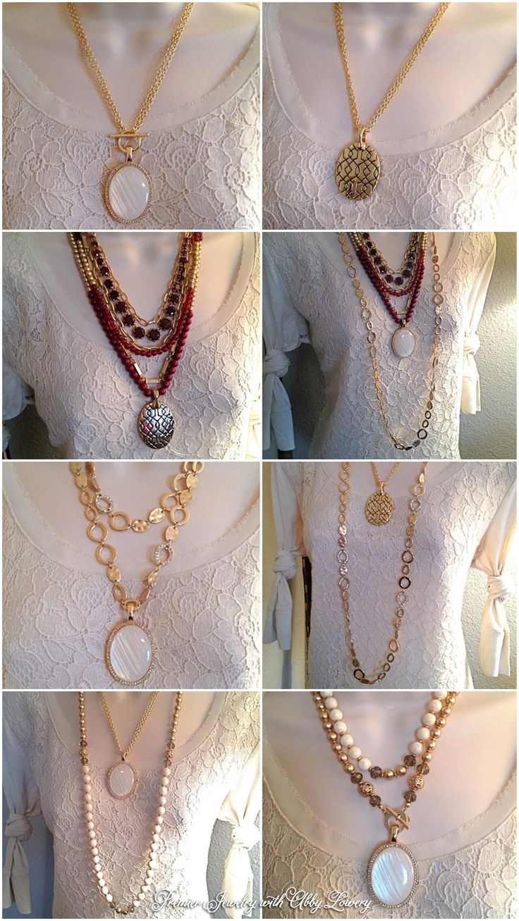 Ways to wear our Avery necklace. #pdbling #pdstyle #pdcombos