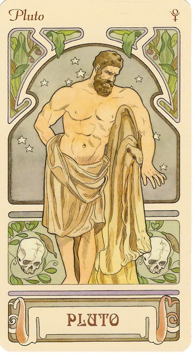 Pluto, ruler of Scorpio, corresponds with the 8th house-- house of spiritual transformation, threshold moments, death, legacies.