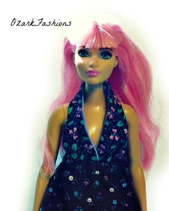 f700f1f690 Curvy Barbie Doll Dress - ONE SIZE fits ALL - Curvy