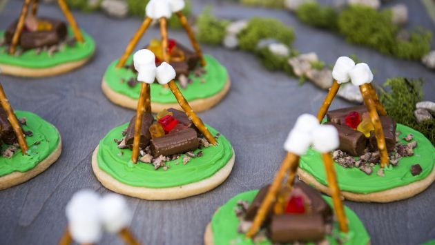 Get Campfire Cookies Recipe from Food Network