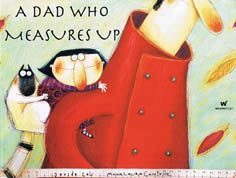 A Dad Who Measures Up by Davide Cali and Anna Laura Cantone