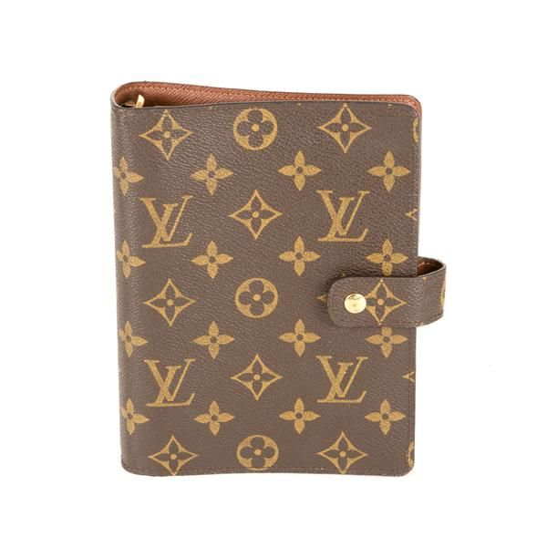 Louis Vuitton Agenda Mm Authentic Pre Owned Louis Vuitton Agenda Louis Vuitton Planner Louis Vuitton
