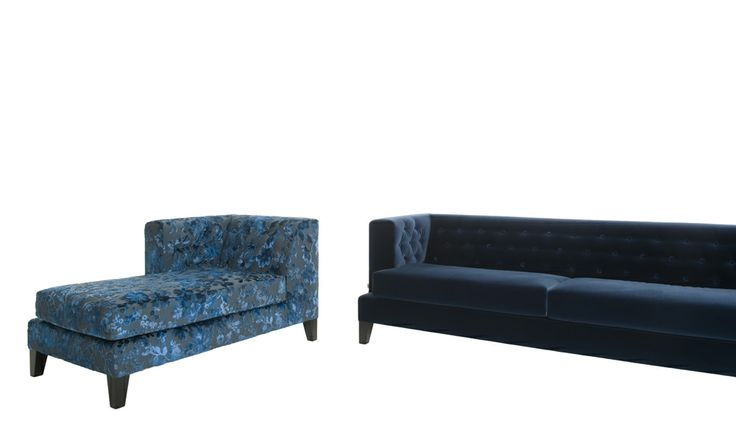 Hall by Rodolfo Dordoni Sofas, day-bed and terminals. Polyurethane foams padded conglomerate wooden structure. Fabric or leather fixed cover.