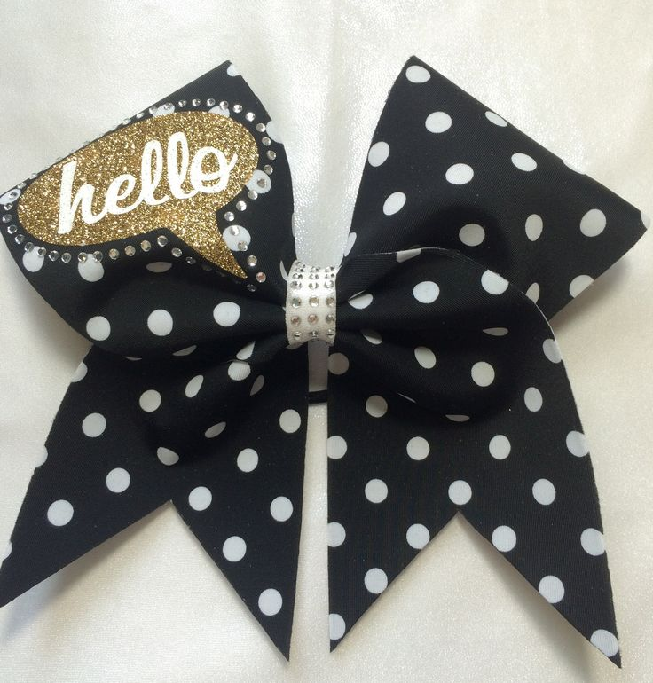 Oh so cute statement bow!