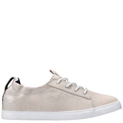 Timberland Newport Bay Canvas Oxford Shoes White