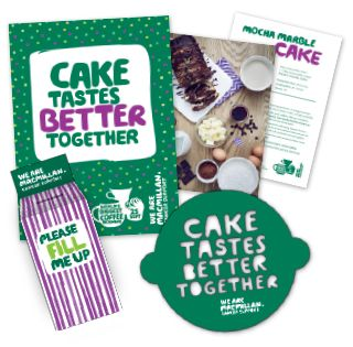 MacMillan Biggest Coffee morning. Nationwide Friday 30 September 2016