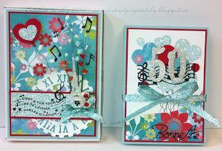 Cartes artisanales et autres projets artistiques de Liz: Une Boitatou et sa carte!