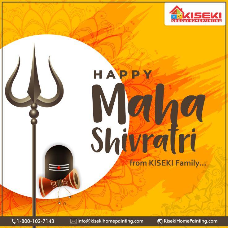 Happy Mahashivratri From KISEKI Family.🙏🙏 in 2019 House