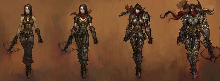 Demon Hunter In Diablo 3 : Lore, Names And Gameplay