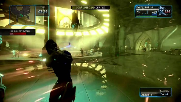 Warframe PS4 Playing With The Clan (+playlist)