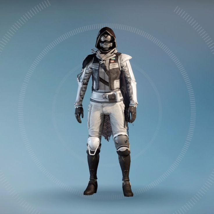 Destiny: Long Tommorow Hunter with Dead Orbit Shader and Exotic Cloak of Oblivion
