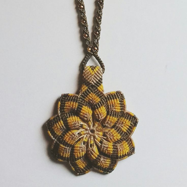 Flor de Macramé 😊