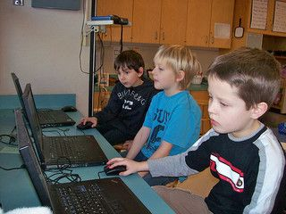 Blogging with first graders, the ripple effect.  Will share this in my district.