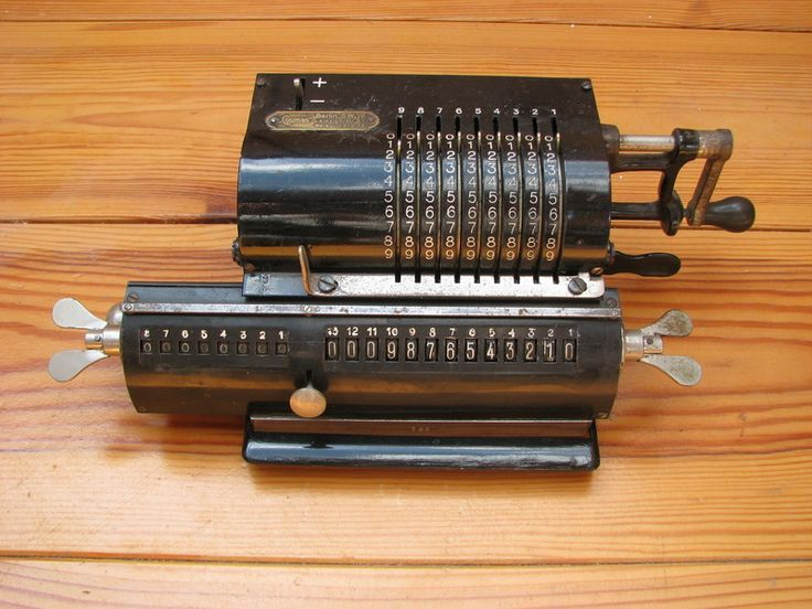 Links to a handsome site of mostly 1920s calculators. This particular machine is a Walther from Berlin.