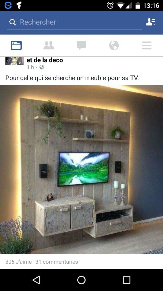 Tv Wand Holz = 1000+ ideas about tv wand holz on pinterest  tv wand aus