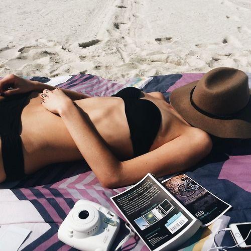 lazy beach day.