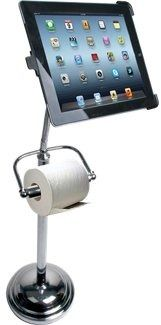 CTA Digital Pedestal Stand Roll Hldr iPad in Bed and Bath Accessories. From dealspl.us !