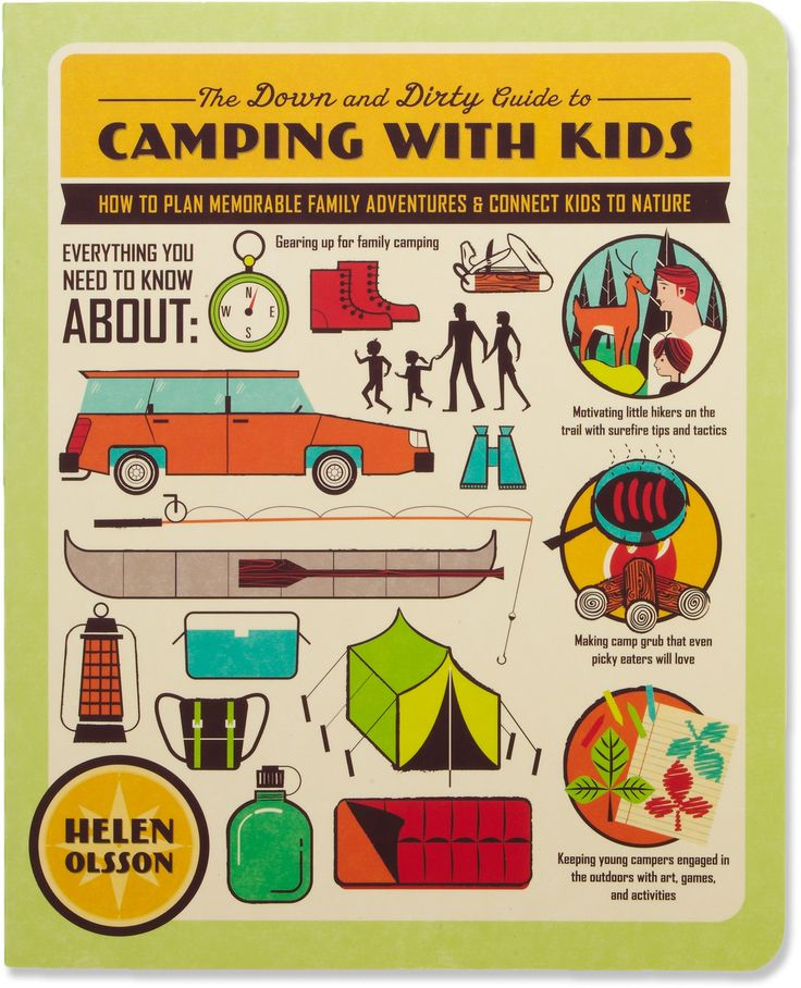 The Down and Dirty Guide to Camping with Kids at REI.com