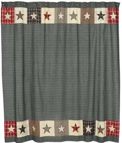 Americana Shower Curtain. Country ...