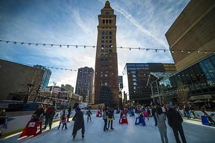 Outdoor Ice Skating Rinks in Denver and Beyond