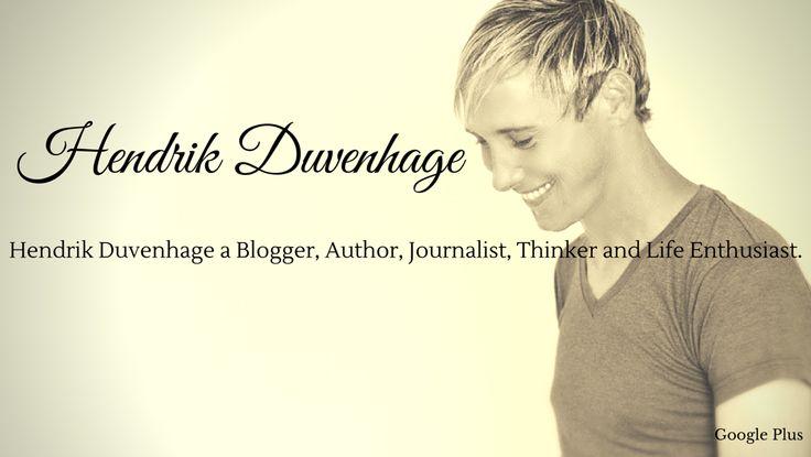 Follow me on Google+ https://plus.google.com/+HendrikDuvenhagedavid