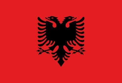 Bandera de Albania (#Flag of #Albania)