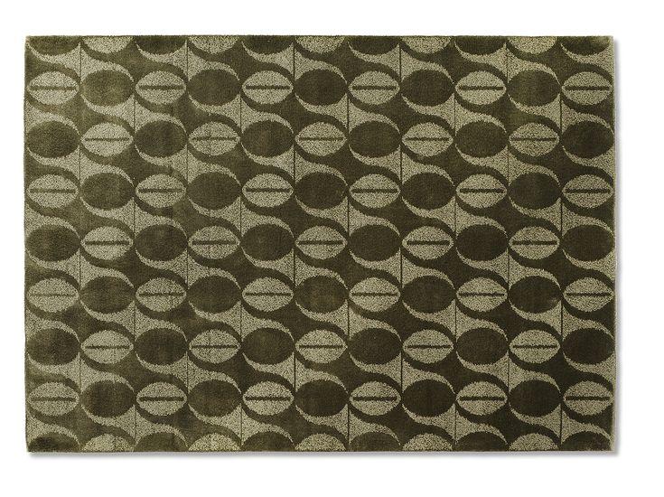 """""""Aster Vintage Dahlia Sage Green"""", from Ogeborg Design Collection."""