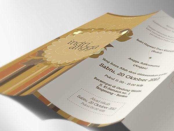 Konsep Undangan Pernikahan Indonesia - Wedding Invitation - Indri & Angga