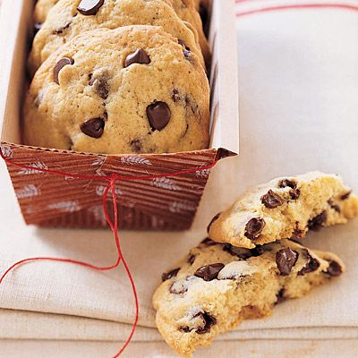 If you like your cookies thick, soft, and chewy, these chocolate chip-filled treats are perfect for you. Recipe: Cakey Chocolate Chip Cookies   - Delish.com