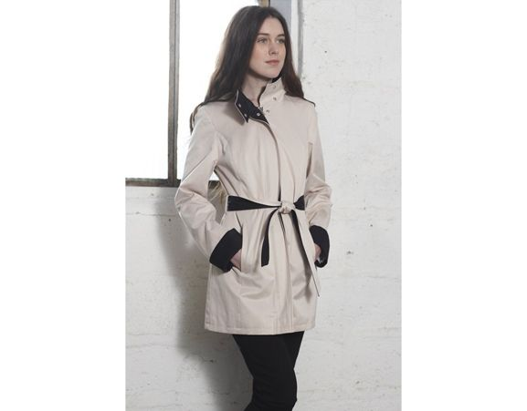 AMOR LUX - Waterproof parka trench coat. Made in France.