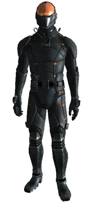 Futuristic Body Armor | ... that's bulky and doesn't even have separated legs. The body stocking
