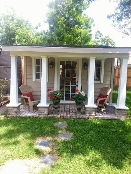 169 best images about my dream art studio on pinterest for Shed with covered porch