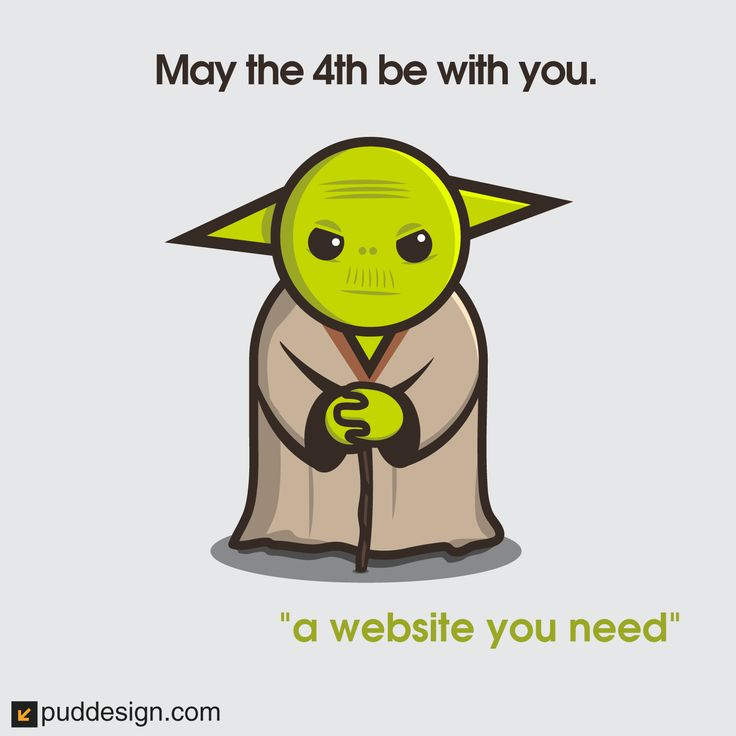 #MayThe4thBeWithYou #StarWarsDay looking for #webdesign visit https://puddesign.com #graphicdesign
