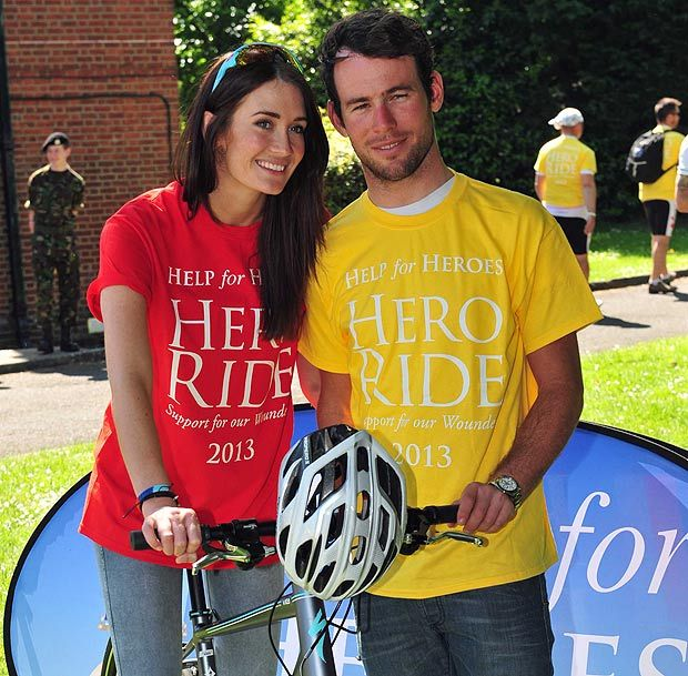 Olympic cyclist Cavendish and Duchess of Cornwall support fundraising Hero Ride