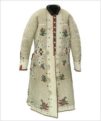 Coat (ködmön) Hungary Museum of Textiles Canada