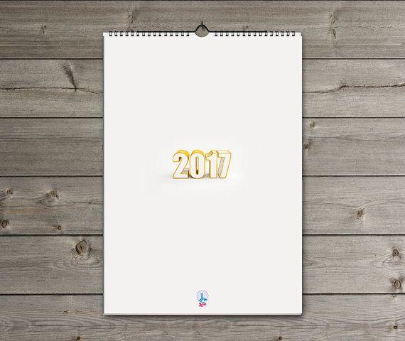 2017 2017 calendar with holidays  calendar 2017 uk от LamaLuna
