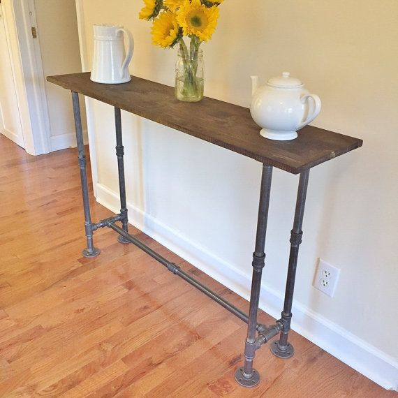 Narrow Foyer Console : Entry table foyer console narrow by
