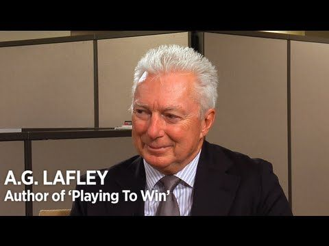 A.G. Lafley Defines Effective Business Strategy. A.G. has single-handedly trained more future-CEO's than most companies.
