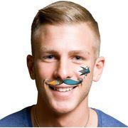 San Jose Sharks Mustache Temporary Tattoo Set - Shop.NHL.com