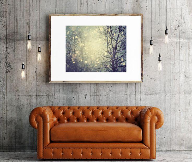 "Fine Art Photography, ""A Winter Tale"" Landscape Photography, Trees Snow, Large Wall Art Prints, Blue Wall Art, Large Art, Nature by EyePoetryPhotography on Etsy https://www.etsy.com/listing/62264252/fine-art-photography-a-winter-tale"