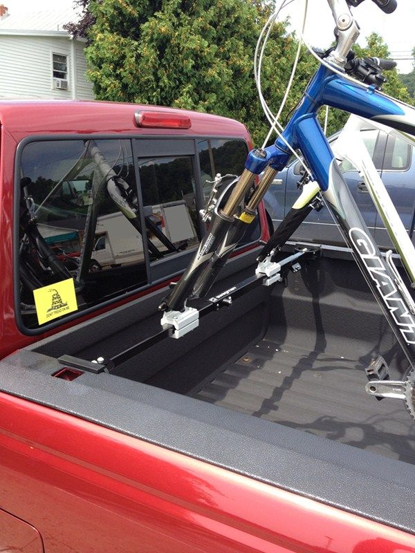 Swagman Pick Up Truck Bed Mounted 2 Bike Carrier Locking Fork