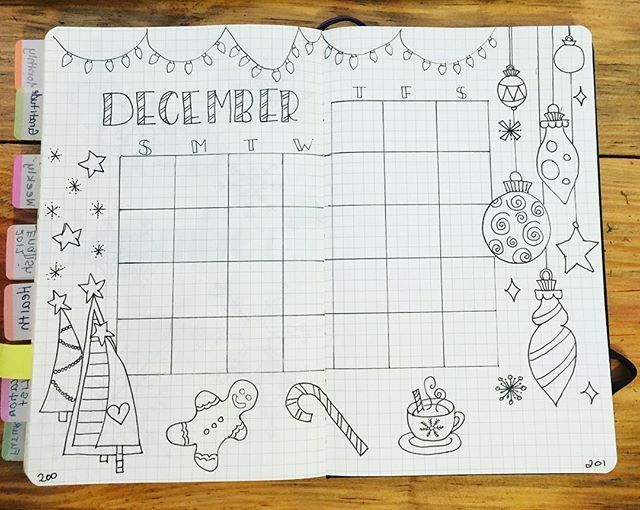 I want to add color but I'm a little hesitant because my color selection skills need some fine tuning. Advice? Should I stick with the traditional red, white, green?  #december #christmas #doodles #holidays #holidayseason #coloring  #wearebujo #bujo #bujolove #bujonewbie #bulletjournal #bulletjournaling #bulletjournallove #bujocommunity #bulletjournaljunkies #bulletjournallove #planner #plannergirl #plannerlove #bujobaby